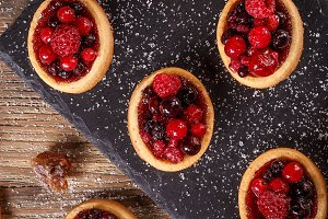 Homemade tartlets
