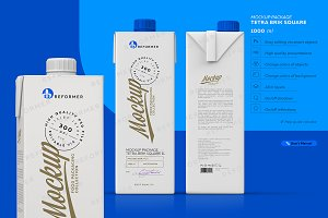 MILK PACKAGING POSTER