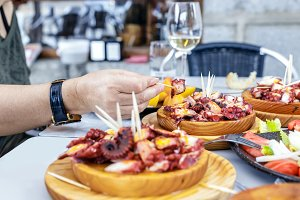 Galician octopus dishes