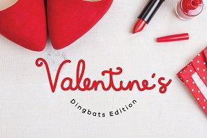 Valentine's Dingbats