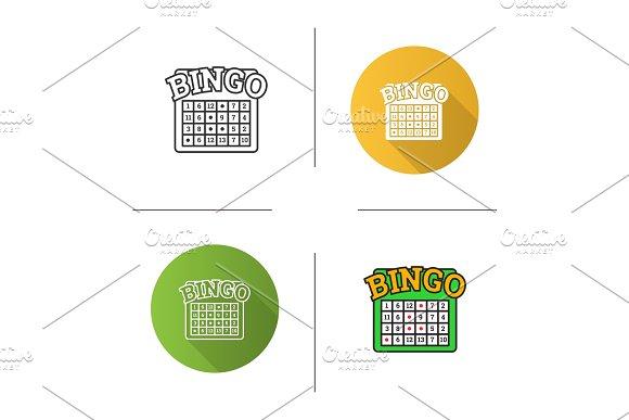 Bingo game icon