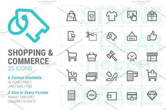 Shopping Commerce Mini Icon