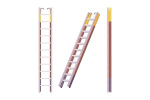 Pompier ladder set