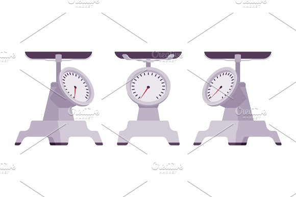 Kitchen Metal Scales
