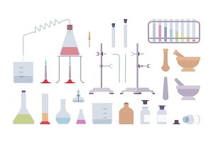 Chemical laboratory equipment and instruments