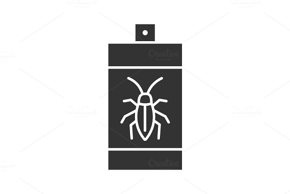 Roaches Bait Glyph Icon