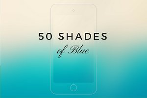 50 shades of Blue - I