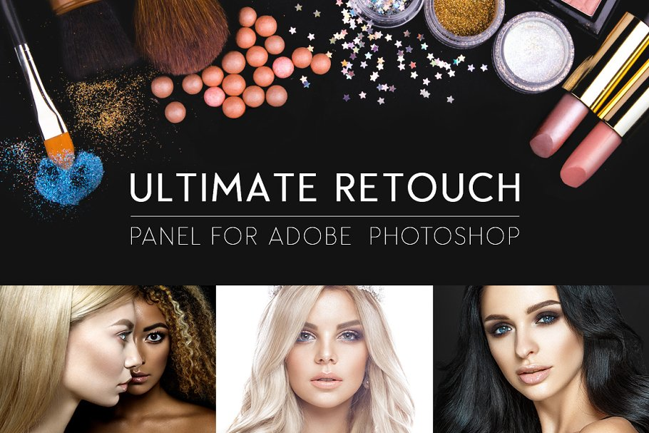 Ultimate Retouch Panel 3 8 ~ Illustrator Actions ~ Creative