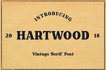 Hartwood Font
