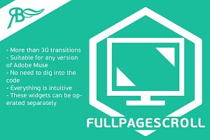 Full Page Scroll for Adobe Muse