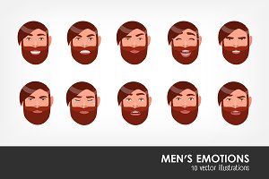 man's emotions