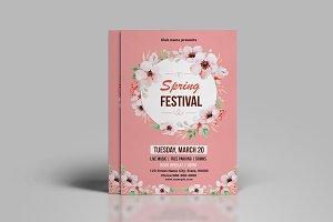 Spring Festival Flyer-V777