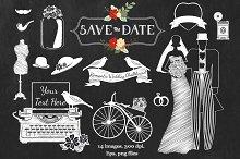 Romantic Wedding Chalkboard