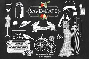 Romantic Wedding Chalkboard