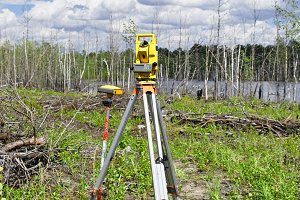 Electronic geodetic instruments in the field