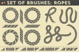 Set of brushes #1: Ropes