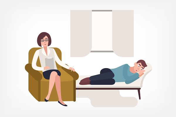 Psychotherapy concept