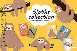 Lovely Sloths Collection