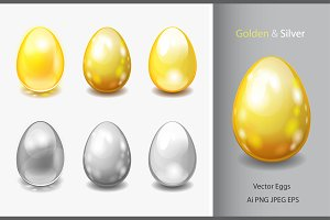Golden & Silver eggs