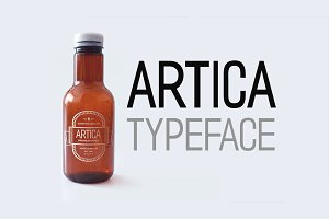 ARTICA - Display Typeface + Web Font