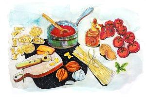 Italian tomato's sauce