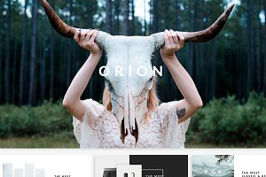 Orion Creative Template
