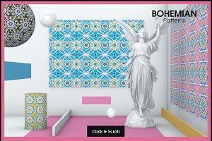 Bohemian vector patterns