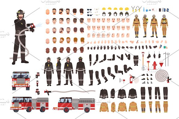 Firefighter Creation Set Constructor