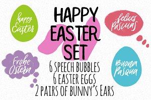 Happy Easter set