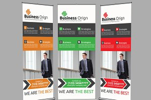 Business Roll UpBanner