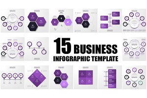 15 Business infographic template