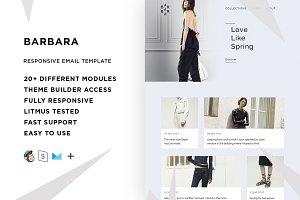 Barbara – Email template + Builder