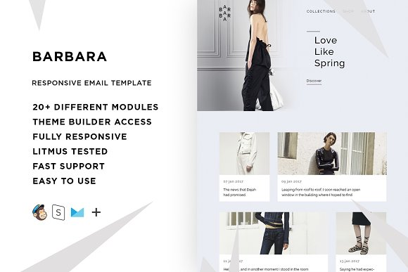 Barbara Email Template Builder
