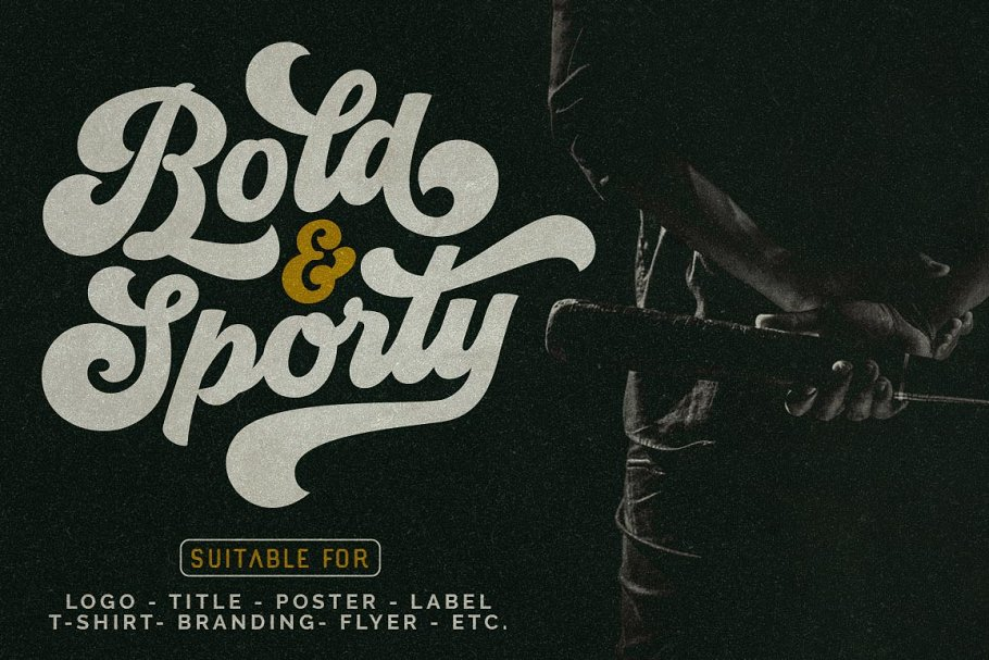 Groovy - Retro Font in Script Fonts - product preview 10