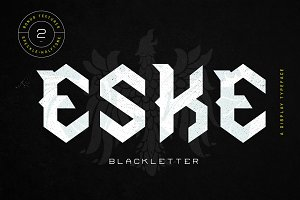 Eske Blackletter  - 50% off!