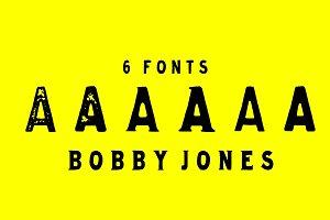 Bobby Jones Font Bundle