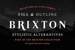 Brixton (6 Fonts + Extras!)