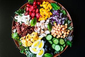 Colorful Chopped Kale Salad