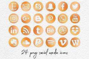 Social Media Icon - Summer Afternoon