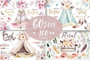 60% off BOHO BUNDLE II