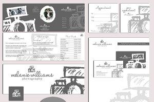 Photography logo & marketing set