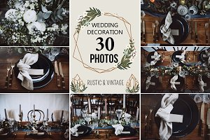 30 PHOTOS of WEDDING DECORATION