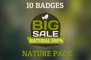Bio Badges pack. 10 HQ badges