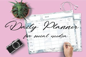 Social Media planner for content