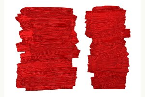 Red brush stoke texture background