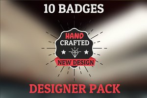 New Design pack. 10 HQ badges