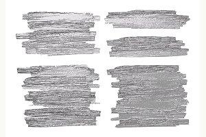 Silver brush