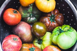 Gorgeous Heirloom Tomatoes