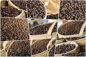 17 Coffee Beans Close Up Set - 1