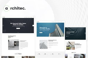 Architecture PSD Template